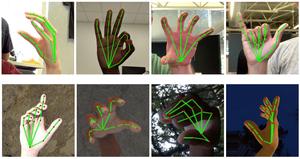 Tracking van handgebaren